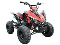 brand new 125cc interceptor quad bike with reverse gear green blue red orange £500