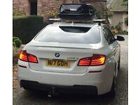 Thule Wingbar Roof Bars (BMW 5 Series F10 Saloon)