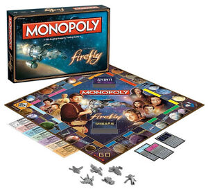 Firefly Monopoly Board Game at JJ Sports