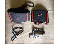 **BRAND NEW** AQF PRO FITNESS GEAR AB SLINGS WITH WRIST WRAPS