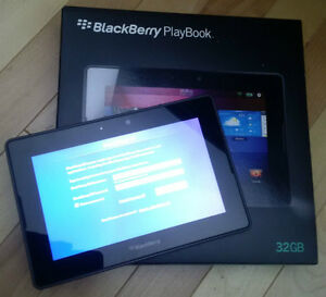 Blackberry Playbook 32 GB complete kit - LIKE NEW