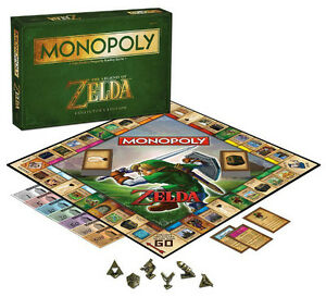 The Legend of Zelda Monopoly Board Game at JJ Sports