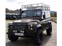 Land rover, defender 90...... full stainless rebuild.(will trade for motorhome)