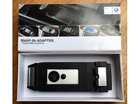 GENUINE BMW iPHONE 6 snap-in-adapter