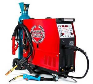 OLYMPIC ALUMIG-250 DOUBLE PULSE SYNERGIC INVERTER MIG/MMA WELDER Osborne Park Stirling Area Preview
