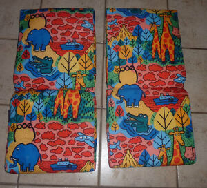 2 kids' patio chair cushions, mint condition