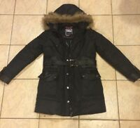 New Point Zero Winter Jacket, Women's large, down-filled