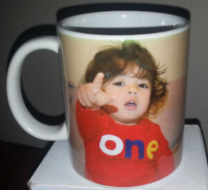 Printing of Personalized Pictures and Logos on Ceramic Mugs