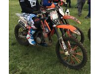 KTM 85cc BIG WHEEL 2010