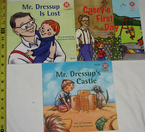 3 Mr. Dress Up Soft Cover Books London Ontario image 1
