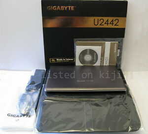 Gigabyte U2442F-CF2 Extreme Ultrabook Laptop