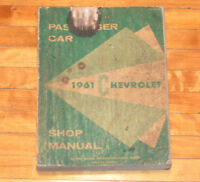 1961 Chevrolet Shop Manual