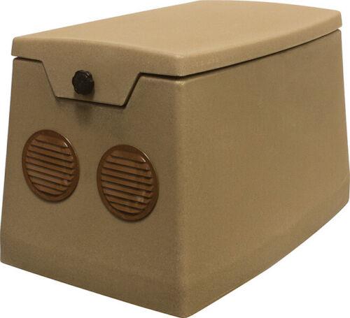 Weatherproof Cabinet for Pond Aerator 115v Fan Soundproofing Installed SC25F1SU