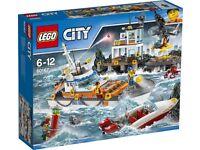 Lego city (60167) coastguard headquarters