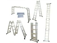 Works expert multi purpose ladder/platform BRAND NEW