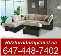 FREE OTTOMON WITH 2 PCS SECTIONAL SET