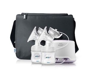 Avent double electric breast bump