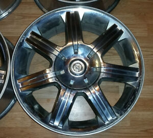 """Set of 19"""" OEM Chrysler Pacifica alloy rims with TPMS"""