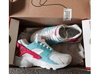 Buy it now on eBay, Nike huarache size 3 brand new in box