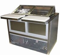 "48"" QBD Refrigerated Sandwich Table"