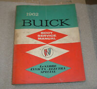 1962,60,64 BUICK BODY SERVICE MANUAL USED $40.00 EACH  O.B.O.