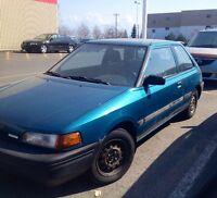 1992 Mazda 323 Hatchback- negotiable