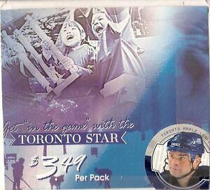 2003 Toronto Star ITG Hockey  - Set, Album and Foil Insert Set