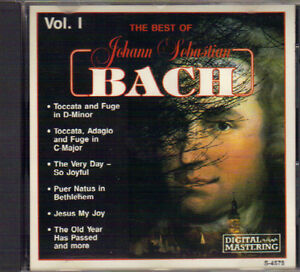 The Best of Johann Sebastian Bach Vol I