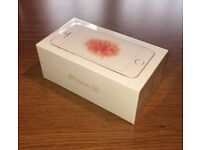 Apple iphone SE BRAND NEW SEALED 32gb Rose Gold Vodaphone