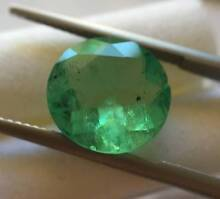 RARE One Round Emerald 5.48ct Strathfield Strathfield Area Preview