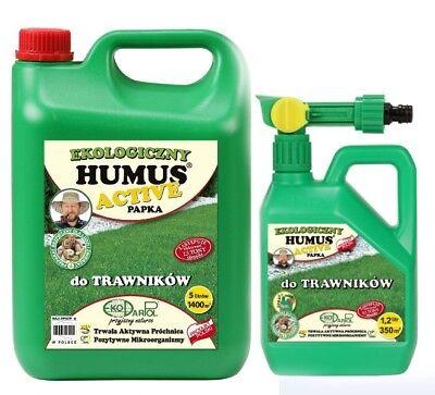 Rasendünger 5L + SPRAY 1,2L  Extra Langzeitwirkung  Flüssigdünger  5L+1,2L Spray