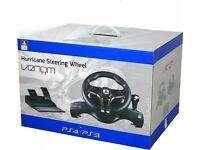 PS4/PS3 Hurricane Steering Wheel by Venom