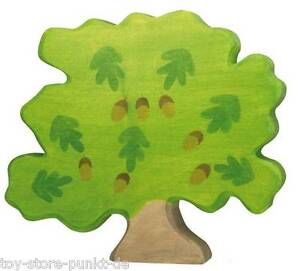 NEU Holztiger # 80225 Eiche groß 24 x 29 cm Baum Holz Bauernhof-Deko