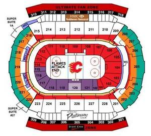 Flames ticket pack - selling game pack, up to 13 games, 4 seats