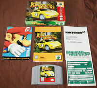 7 Nintendo 64 Games Complete With Box & Manuals