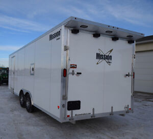 2018 Mission 8.5 x 22 + V All Sport Combo Heated and Insulated