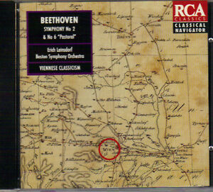 Beethoven - Symphony No. 2 & 6 'Pastoral' (RCA Classics) West Island Greater Montréal image 1