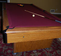 Pool Table, and accessories