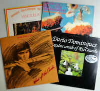 Lot 4 vintage South America World Beat records disques vinyl LPs