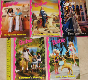 Qty 5 x Barbie Hard Cover Books (Lot # 2) London Ontario image 2