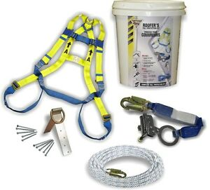 Fall Protection Kit - Includes 2 Harnesses