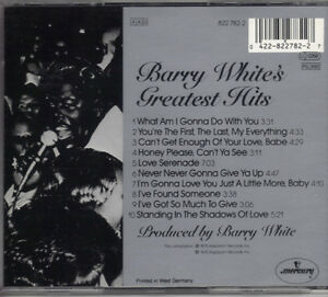 Barry White's Greatest Hits West Island Greater Montréal image 2