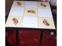 Tiled side/coffee table