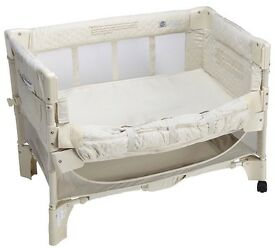 Arms reach co sleeper bedside crib