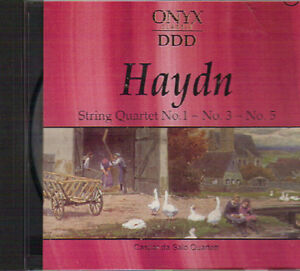 Franz Joseph Haydn - String Quartets No. 1, 3 & 5 West Island Greater Montréal image 1