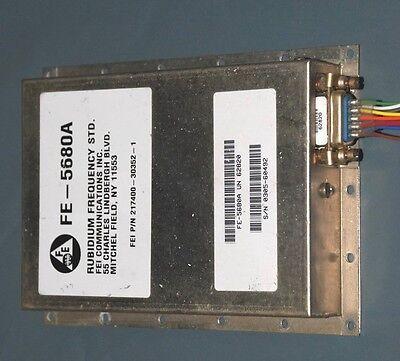 10 Mhz Sinewave Fe-5680a Rubidium Oscillator Std 50ohm
