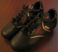 Child's Mitre Soccer Shoes/Adidas Shinguards/Four Soccer Balls