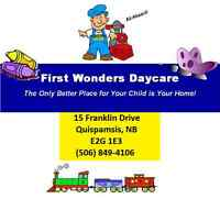 First Wonders Daycare, Afterschool and Summer Program
