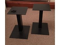 High quality heavy fully welded spiked speaker stands.