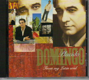 Placido Domingo - From My Latin Soul West Island Greater Montréal image 1